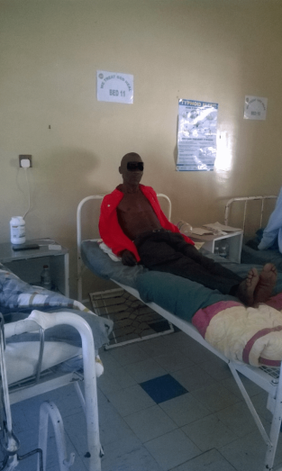 Cyclone Victim,Murambinda Mission Hospital